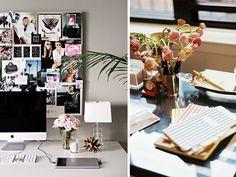 diy home desk flowers 4