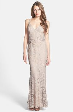 Jill Jill Stuart Lace Godet Gown available at #Nordstrom