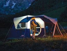 Coleman Elite® WeatherMaster® 6 Screened Tent - http://familycampingtents.ellprint.com/coleman-elite-weathermaster-6-screened-tent/
