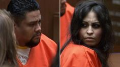 Palmdale mom charged in beating death of son confronts ex in court