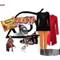 Uzumaki Naruto outfit #naruto