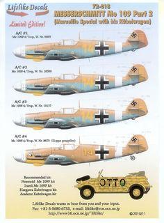 Me 109 design spec