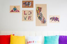So we've already showed you how to repurpose your old stacks of magazine, but incase none of those tickled your fancy we've got more more DIY for you. DIY silhouette wall art! Tada! This DIY is super simple. In five easy steps you can create wall art that is fun and original.