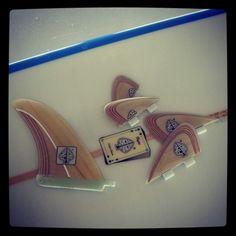 Neyrafins plywood fins for fcs compatible c5 bonzer. neyrafins@gmail.com