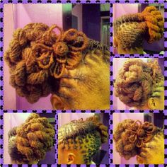 #LOCs #flower by #CiaraTheLOCtician #LocStyles