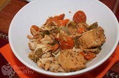 Slow Cooker Honey Mustard Turkey Stew