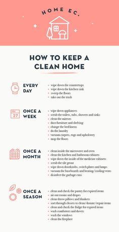 Our dear friend Grace Bonney shares her tips on keeping a clean home in her Home Ec series. Spoiler alert: she turns to Mrs. Meyer's Clean Home book for some advice.: