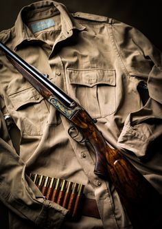 Westley Richards. double rifle, .500,gold name
