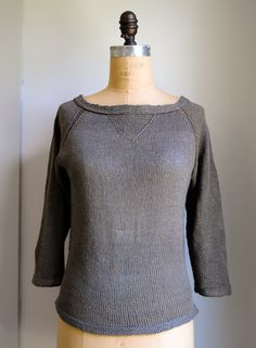 Everyday Linen Pullover - the purl bee