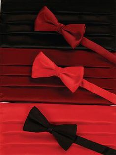 Stylish bow ties in a range of colours