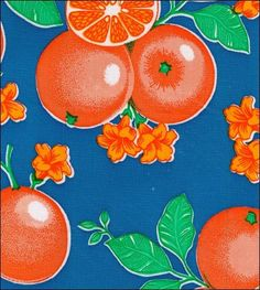 Oilcloth By The Yard - Fruit