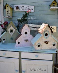 Birdhouses - Mammabellarte - Rita Reade