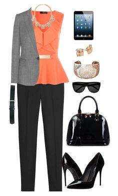 """""""WORK"""" by vianciasblue on Polyvore featuring moda, White House Black Market, STELLA McCARTNEY, Links of London, Forever 21, Kate Spade, Relaxfeel, Dolce&Gabbana, Yves Saint Laurent y M&Co"""