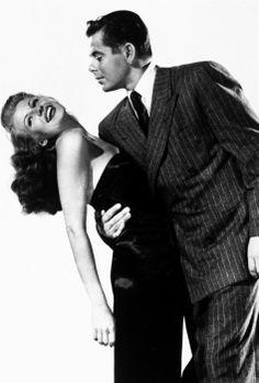 Rita Hayworth and Glenn Ford - Gilda