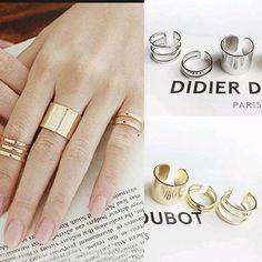 3pcs. / Set. Fashion Top Of Finger Over The Midi Finger