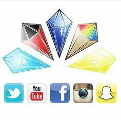 Social Media Diamonds