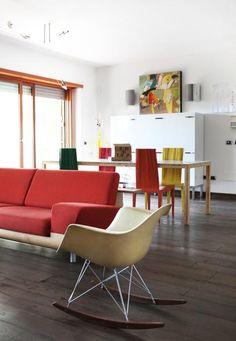 Casa Roma Claudia Pignatale - Living