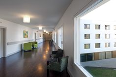 Image 10 of 13 from gallery of Elderly Care House / Geninasca Delefortrie Architectes. Photograph by Thomas Jantscher Understanding Dementia, Mental Health Illnesses, Aged Care, Elderly Home, Personal Hygiene, Senior Living, Design, Home Decor, Home
