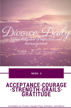 Finding the courage to divorce