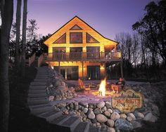 Log Home Models   Aspen VII Log Home Model from True North Log Homes