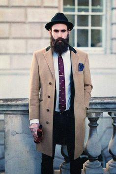Ricki Hall, men's street style