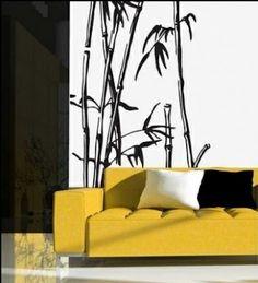 Le sticker bambou apporte dynamique, gaieté et design à votre décoration.