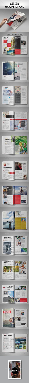 Voten Magazine 28 Pages, A4 & US Letter size Template PSD #design Download: http://graphicriver.net/item/voten-magazine-template/13966423?ref=ksioks