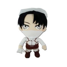 Levi from Attack on Titan - Levi Plush - Officially Licensed Product - Great for Attack on Titan Fans