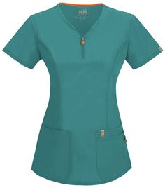 Certainty V-Neck Top - Teal
