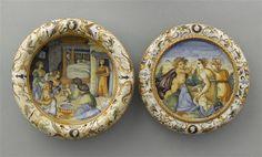 Impagliata. Manif. Fontana, 1560-70 ca. | Paris, musée du Louvre, inv. OA6425