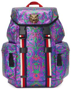 e395b137320e4e Gucci Techpack Brocade Backpack, Multi #fashion #pandafashion #backpack # gucci Fashion Handbags
