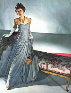 By Horst P. Horst, 1947: love the dress - not the accessories