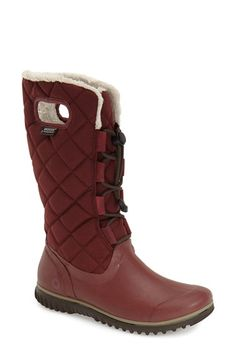 172610c3c0e2 Bogs  Juno  Waterproof Quilted Snow Boot (Women) Winter Snow Boots