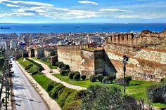 Sunny Thessaloniki Thessaloniki, Dream Vacations, The Locals, Paris Skyline, Greece, Scenery, Europe, Earth, Places