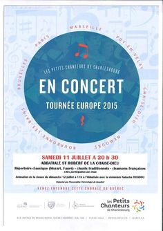 Concert à l'abbatiale saint-Robert - Samedi 11 juillet 2015 - La Chaise-Dieu