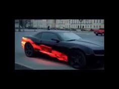 Thermochromic Paint Car