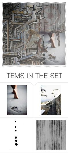 """""""vulnerability in the dark age"""" by zree ❤ liked on Polyvore featuring art, Dark, industrial, rust, vulnerability and industrial_age"""