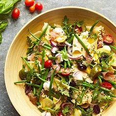 Summer Pasta Salad From Better Homes and Gardens, ideas and improvement projects for your home and garden plus recipes and entertaining ideas.