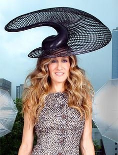 The Most Outrageous Celebrity #Hats: #SarahJessicaParker http://news.instyle.com/photo-gallery/?postgallery=110545#5