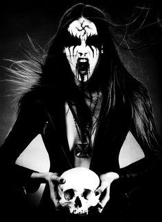 black metal - corpse paint