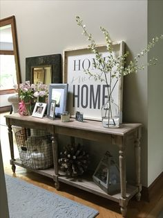 I Love Our World Market Everett Foyer Table In Our Entryway!! Need To Buy
