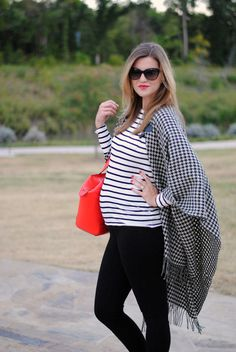 // Mixed Menswear Prints by Modern Eve #Maxxinista #MaternityStyle