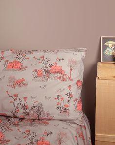 Magical and Enchanting Woodlands Pillow Cases - Brown — Sian Zeng