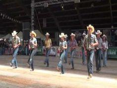 Steve Earle line dance - WILD HURRICANE - Voghera Country Festival 2010 ...