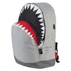 Buy the adorable and unique Shark Backpack at the Discovery Channel Store. This fan favorite is perfect for Shark Week & back to school! Mochila Tutorial, Articles Pour Enfants, Boys Backpacks, Boat Accessories, Shark Week, Kids Bags, Backpack Bags, Puppy Backpack, Mini Backpack