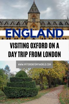 Oxford is one of the most famous universities in the world but it's not the only thing to see and do during an Oxford Day Trip from London. Europe Travel Guide, Travel Guides, Travel Destinations, Visit Oxford, British Travel, Day Trips From London, Travel Activities, Ireland Travel, Cool Places To Visit
