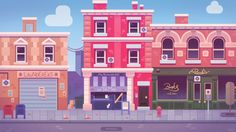 This was the first research for an indie game project, which has well changed since the begininnig Building Illustration, City Illustration, Graphic Design Illustration, Illustration Children, Episode Interactive Backgrounds, Episode Backgrounds, Game Background, Cartoon Background, Bg Design