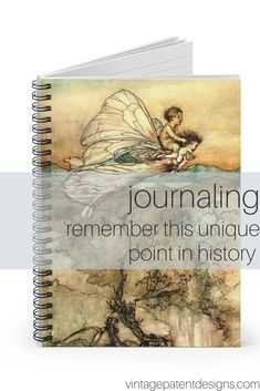 Remember this point in history by keeping a journal of your thoughts and feelings.  We have lots of unique journals worthy of such important recordings