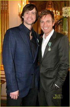 Jim Carrey & Ewan McGregor promoting I Love You Phillip Morris (2009)