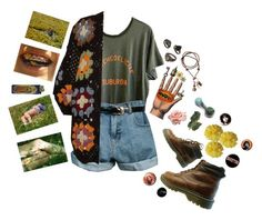Woodstock by ogidnii ❤ liked on Polyvore featuring Wildfox, Retrò and HM